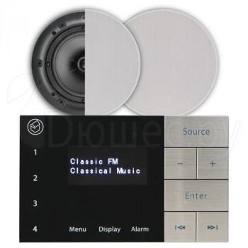 Акустическая встраиваемая система Systemline E100 System pack (с динамиками 6.5 дюймов)