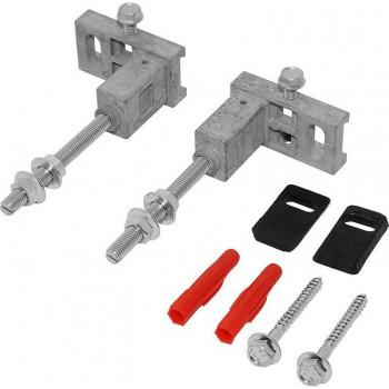 Комплект Tece для крепления модуля к стене или системе стального профиля