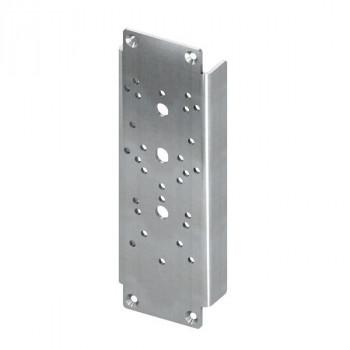 Комплект стальных пластин Tece TECEprofil для крепления поручня