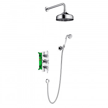 Душевой комплект Timo Nelson SX-1390/00SM скрытого монтажа с термостатом хром