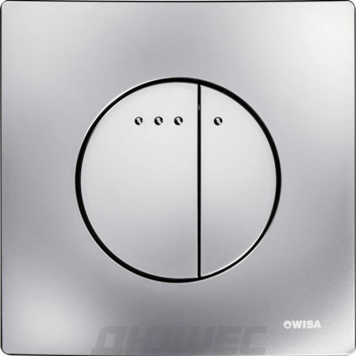 Кнопка смыва Wisa Quadro Enyo DF 8050.416731 хром матовый