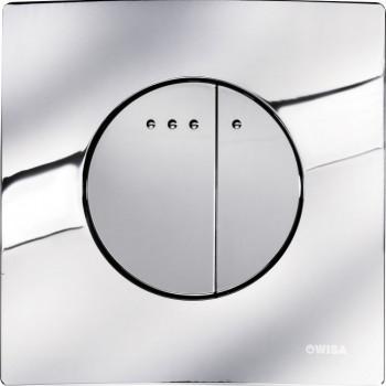 Кнопка смыва Wisa Quadro Enyo DF 8050.416751 хром глянцевый