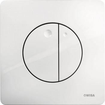 Кнопка смыва Wisa Quadro Gaia Df 8050.417001 белый