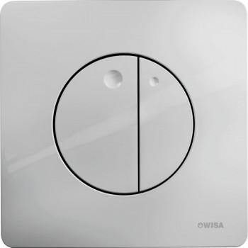 Кнопка смыва Wisa Quadro Gaia Df 8050.417031 хром матовый