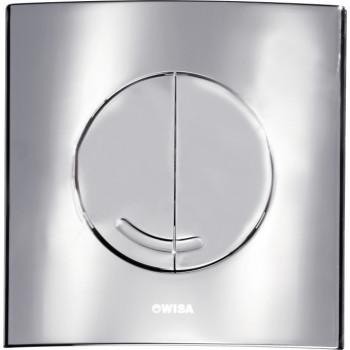 Кнопка смыва Wisa XS Argos DF 8050.414631 хром матовый